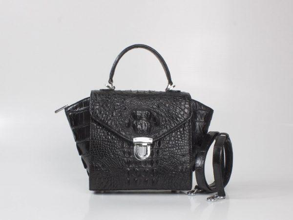 Túi xách nữ Cá Sấu Hoa Cà 0211